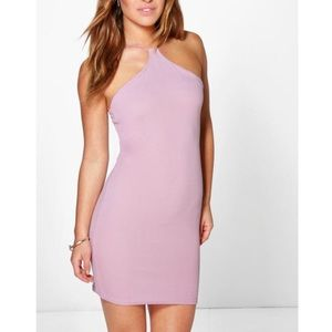 Boohoo Rebecca Strappy Bodycon Dress Size 0